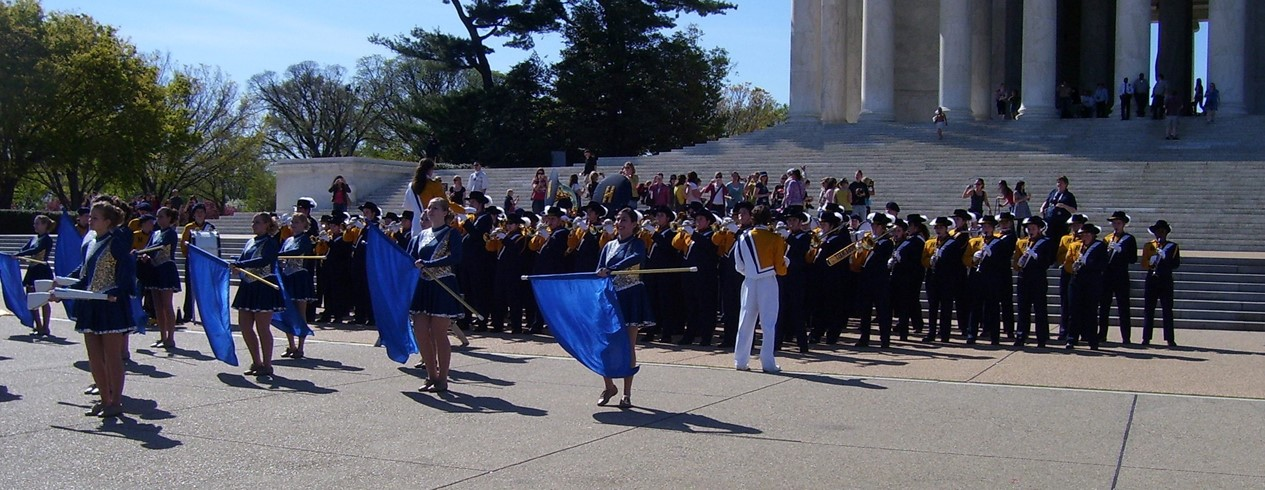 Band performing in Washington D.C.