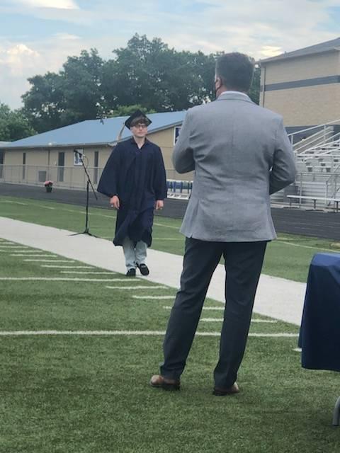 Graduate Walking